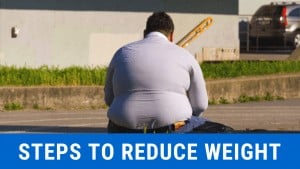 how can you reduce your weight from 380 lbs.