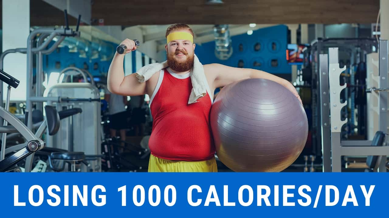 How to lose 1000 calories per day